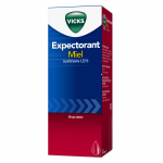 VICKS Expectorant miel guaifenesine 1,33% 180ml