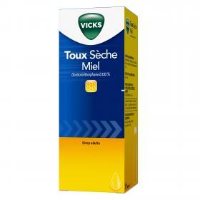 Toux sèche miel dextrométhorphane 0,133% 180ml