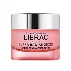 LIERAC Supra radiance nuit crème rénovatrice détox 50ml