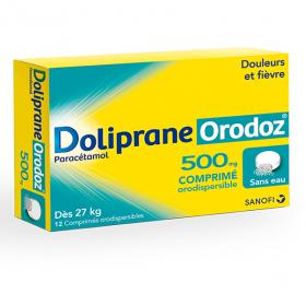 DOLIPRANE Orodoz 500mg 16 comprimés orodispersibles
