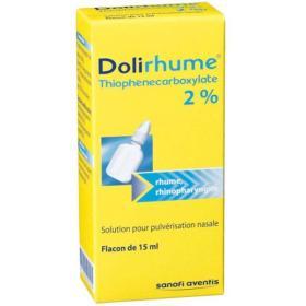 DOLIPRANE Dolirhume thiophenecarboxylate 2%