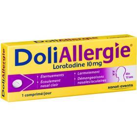 Doli allergie loratadine 10mg 10 comprimés
