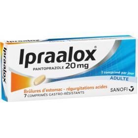 Ipraalox 20mg 7 comprimés gastro résistant