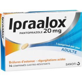 SANOFI Ipraalox 20mg 14 comprimés gastro résistant