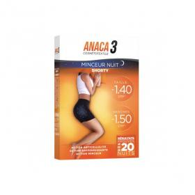 ANACA 3 Cosmétotextile minceur nuit shorty S-M