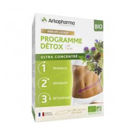 ARKOPHARMA Arkofluides programme détox bio 3x10 ampoules
