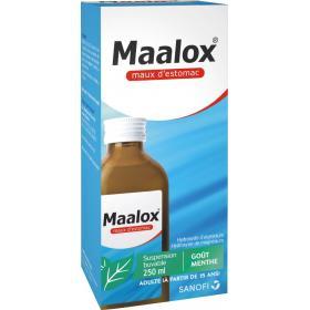 SANOFI Maalox maux d'estomac menthe 250ml