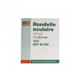 LOHMANN & RAUSCHER Velpeau 7x5,3cm 10 rondelles oculaires