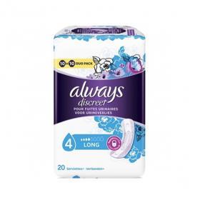 ALWAYS Discreet long 20 serviettes hygiéniques taille 2