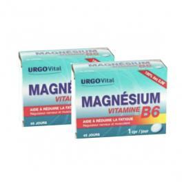 URGO Vital magnésium vitamine B6 lot de 2x45 comprimés