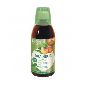 MILICAL Draineur ultra goût thé vert pêche 500ml