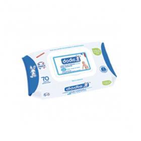 DODIE Lingettes nettoyantes douceur dermo-apaisantes 70 unités