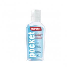 ASSANIS Pocket gel antibactérien 80ml