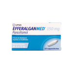 DAFALGAN Efferalganmed 150mg 10 suppositoires
