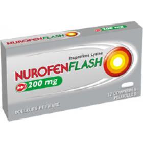 RECKITT BENCKISER Nurofen flash 200mg 12 comprimés pelliculés