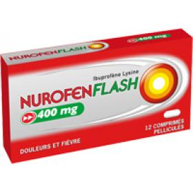 RECKITT BENCKISER Nurofen flash 400mg 12 comprimés