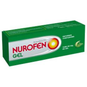 RECKITT BENCKISER Nurofen gel 5% 50g