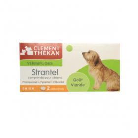 CLÉMENT THÉKAN Strantel chiens 2 comprimés
