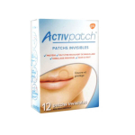 GLAXO SMITH KLINE Activpatch 12 patchs invisibles