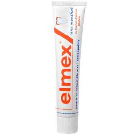 ELMEX Protection caries dentifrice sans menthol 75ml