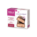 MILICAL Hyperprotéiné 6 barres minceur fruits rouges