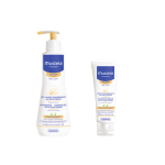 MUSTELA Gel lavant nourrissant cold cream 300ml + crème nourrissante cold cream 40ml