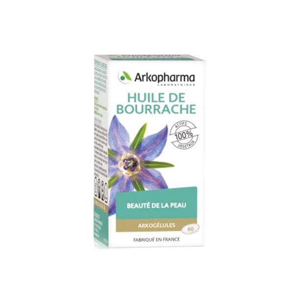 arkopharma arkog lules huile de bourrache 60 g lules parapharmacie pharmarket. Black Bedroom Furniture Sets. Home Design Ideas