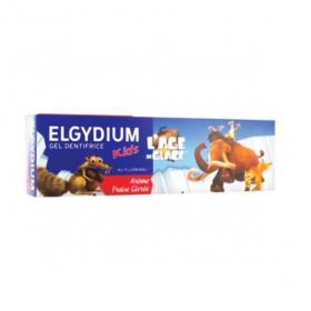 ELGYDIUM Gel dentifrice kids âge de glace arôme fraise givrée 50ml