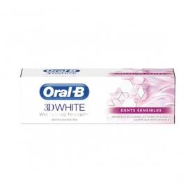 ORAL B 3D white whitening therapy dents sensibles 75ml