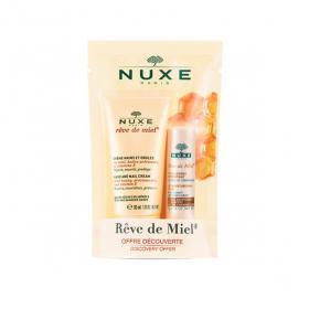NUXE Rêve de miel offre découverte crème mains et ongles 30ml + stick lèvres hydratant 4g