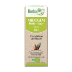 HERBALGEM Midogem forte bio circulation cérébrale spray 30ml