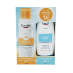 EUCERIN Sun protection sensitive protect spf 50 brume 200ml + sensitive relief after sun 150ml