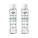 EUCERIN Dermopure eau micellaire lot 2X400ml