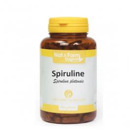 NAT & FORM Spiruline 200 gélules