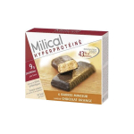 MILICAL Hyperprotéiné 6 barres minceur chocolat orange
