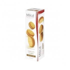 MILICAL 12 biscuits fourrés saveur café