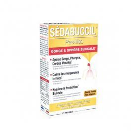 3C PHARMA Sédabuccil 30 pastilles gorge et sphère buccale