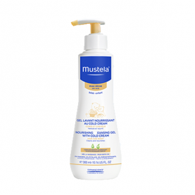 MUSTELA Bébé gel lavant nourrissant cold cream 300ml