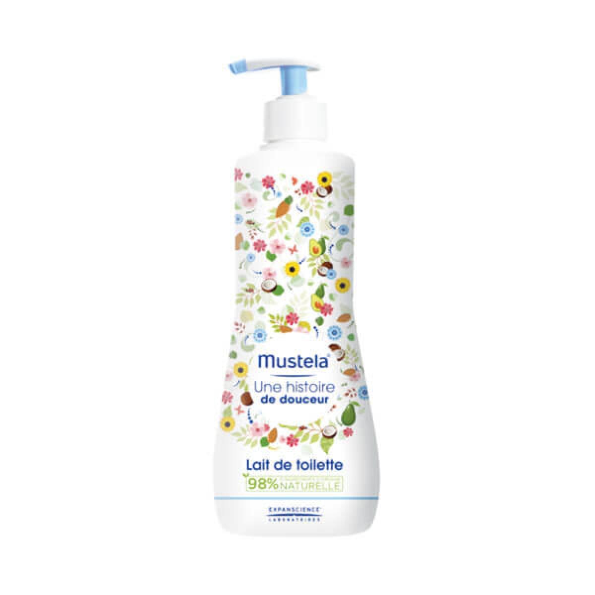 mustela b 233 b 233 lait de toilette 500ml parapharmacie pharmarket