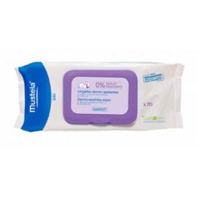 Bébé lingettes dermo apaisantes sans parfum 70 unités