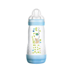 MAM Easy start biberon 1er âge anti-colique bleu 320ml