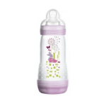 MAM Easy start biberon anti-colique rose débit 3 320ml