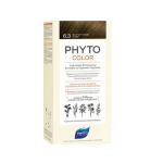 PHYTO PhytoColor coloration permanente teinte 6,3 blond foncé doré 1 kit