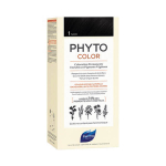 PHYTO PhytoColor coloration permanente teinte 1 noir 1 kit