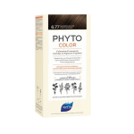 PHYTO PhytoColor coloration permanente teinte 6.77 marron clair cappuccino 1 kit