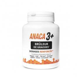 ANACA 3 Anaca 3+ brûleur de graisses 120 gélules
