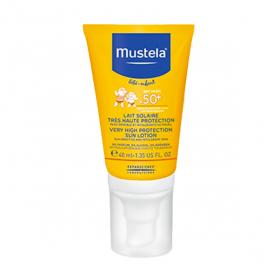 MUSTELA Lait solaire visage spf 50+ 40ml