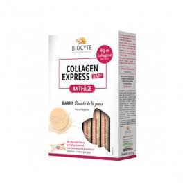 BIOCYTE Collagen express anti-âge 6 barres chocolat blanc