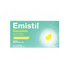 THERABEL Emistil nausées 20 capsules