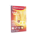 ELASTOPLAST Spiral heat dos nuque 3 patchs chauffants flexibles